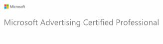 Microsoft Ads Accredited Logo